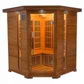 sauna infra rouge luxe 3 4 places poolstar sn luxe 3c