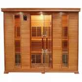 sauna infra rouge luxe 5 places poolstar sn luxe 5
