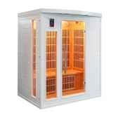 sauna infra rouge soleiblanc 3 places poolstar sn soleilb3
