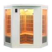 sauna infra rouge soleiblanc 3 4 places poolstar sn soleilb3c
