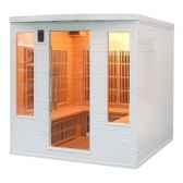 sauna infra rouge soleiblanc club 4 5 places poolstar sn soleilb4s