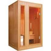 sauna vapeur zen 2 places poolstar sn zen 2