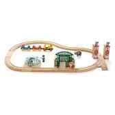 coffret circuit bois zoo brio 33008000