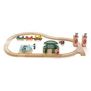 Coffret circuit bois zoo - Brio 33008000