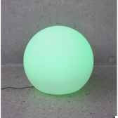 sphere light batterie led diametre 40 blanc new garden newgarden79