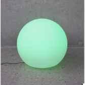 sphere light batterie led diametre 40 blanc new garden newgarden79