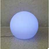 sphere light batterie led diametre 60 blanc new garden newgarden80