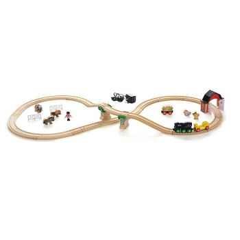 Coffret circuit bois campagne - Brio 33012000