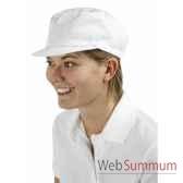 casquette serge polycoton 65 35 250 g m existe en blanc et en noir creation talbot pm247