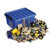 boite de construction bois 284 pieces brio 34582000