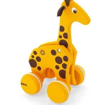 Girafe bois à tirer - Brio 30200000