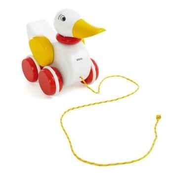 Canard bois à tirer - Brio 30323000