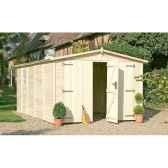garage albatros chalet jardin