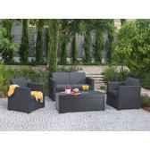 salon bas limousine chalet jardin 17193582