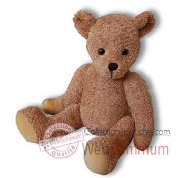 Les Petites Marie-Peluche rétro, ours Léonard articulé.