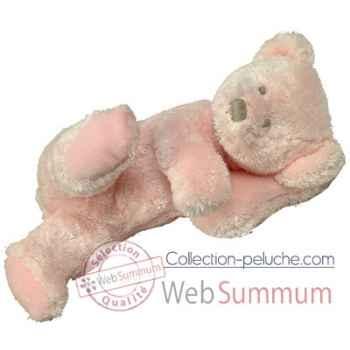 Les Petites Marie-Peluche rétro, ours Rosalie couleur rose.