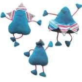 les petites marie peluche petale bleu famile papa maman et bebe