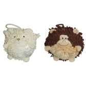 les petites marie collection boule lot de 2 boules mouton et singe