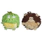 les petites marie collection boule lot de 2 boules grenouille et singe