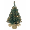 Mini sapin illuminé pliable 45 cm Everlands -NF -671100