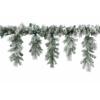 Guirlande enneigée icicle 340 branches 270 cm Kaemingk -688881