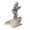Figurines étains Sapeur pompier volontaire avec lance-France -FW005
