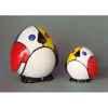 Figurine ménagerie géométrique - pingouins - meg01
