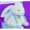 Doudou et Compagnie Doudou Lapin bonbon range pyjama+coffre - bleu -1244