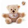 Peluche steiff ours teddy naissance, crème -014208