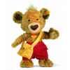 Peluche steiff ours teddy knopf, brun doré -014451