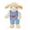 Peluche steiff agneau fais de beaux rêves, bleu -237317