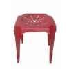 Tabouret de cuisine rouge Antic Line -CD510