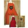 Tablier de cuisine enfant Alma Mater tête de chat -tabe2388rosetendre