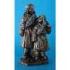 Figurine en bronze Tibet Ceba et Dawa -TIB204
