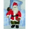 Automate décors de Noël Père Noël debout -PN1A