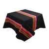 Nappe 350x165 Mauleon noir 100% coton Artiga Hivers -arti10345