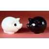 Figurine ménagerie de table - cochons  - spm09