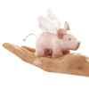 Marionnette Mini cochon ailé au museau aimanté -2685