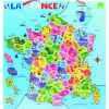 Carte de france magnétique - Jouet Vilac 2582