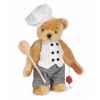 Ours teddy bear chef 27 cm peluche hermann teddy original édition limitée -14628 5