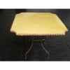 Plateau de table carré ivoire 105 cm P-C-105-I