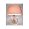 Petite Lampe Ovale Thonier Gx Abricot Abat-jour Ovale Abricot-96